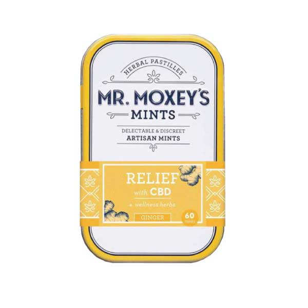 Ginger Relief Mints | Mr. Moxey's