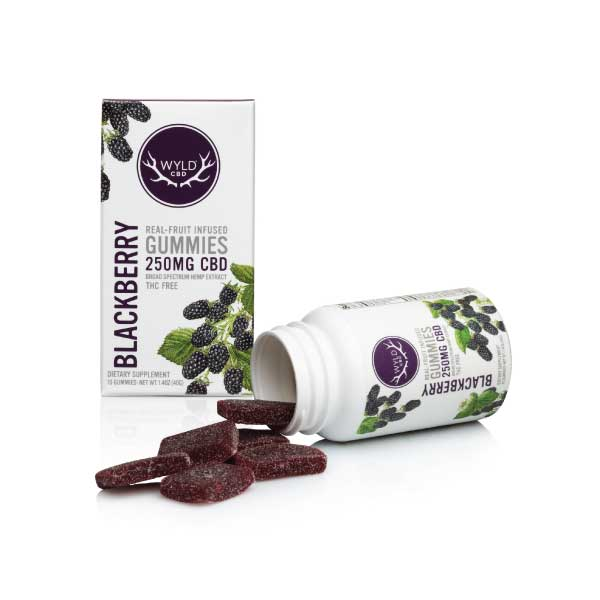Blackberry CBD Gummies | Wyld
