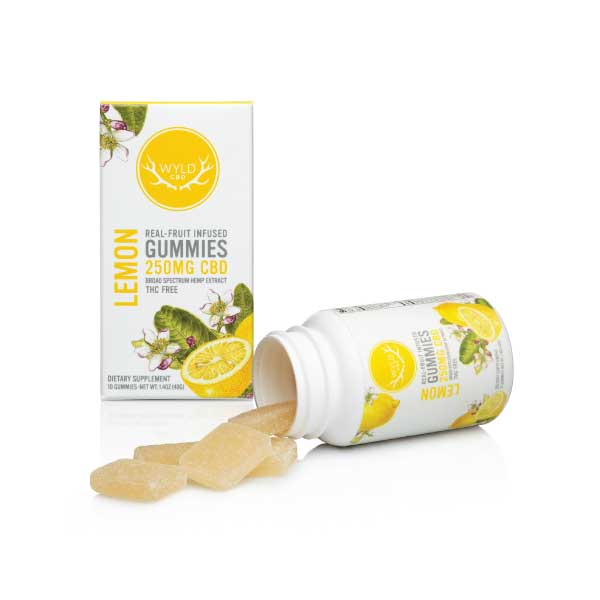 Lemon CBD Gummies | Wyld
