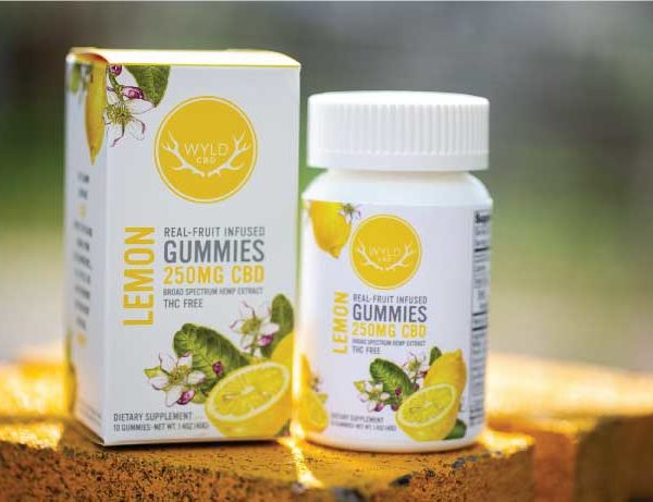Infused WYLD CBD Gummies THC Free Lemon Free Shipping