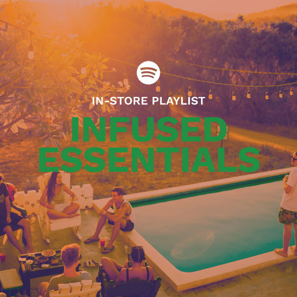 Spotify Playlist for Infused CBD In Store