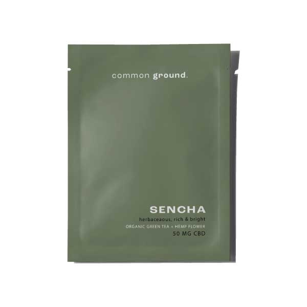 Common Ground CBD Green Tea Sencha California Grown CBD Flower High Strength Organic