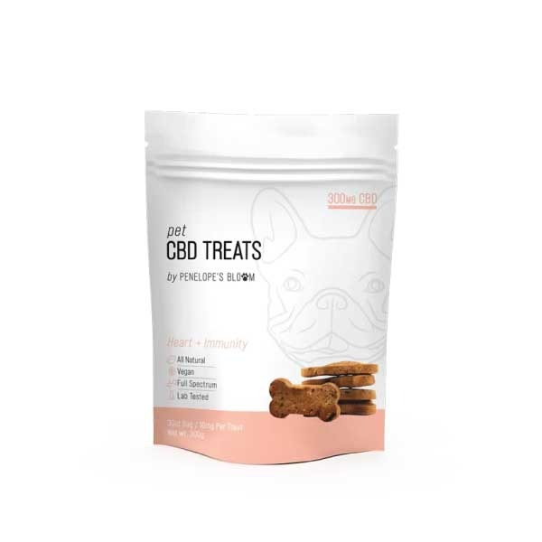 Heart & Immunity CBD Dog Treats | Penelope's Bloom
